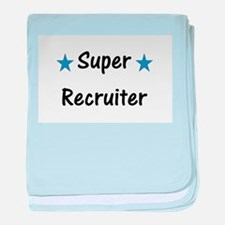 Super Recruiter baby blanket