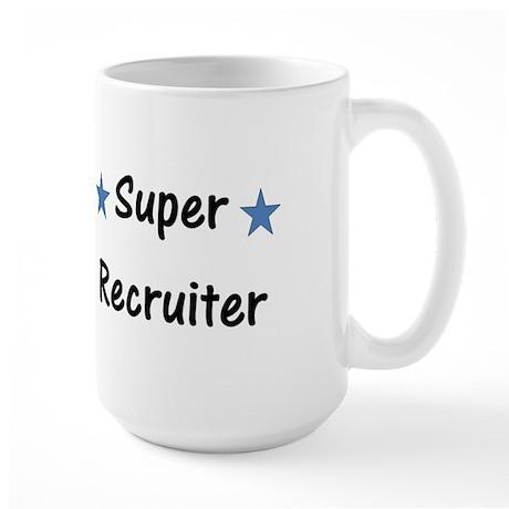 Super Recruiter Large Mug