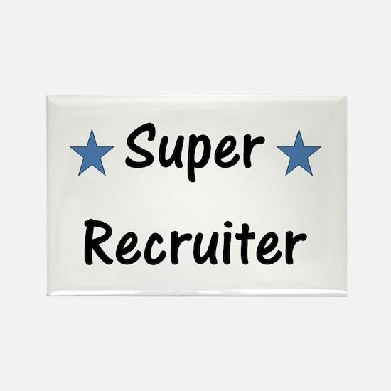 Super Recruiter Rectangle Magnet