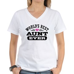 World's Best Aunt Ever Shirt