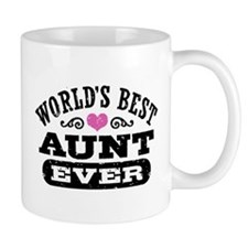 World's Best Aunt Ever Mug