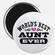 World's Best Aunt Ever Magnet