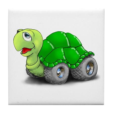 Speedy The Turtle Tile Coaster