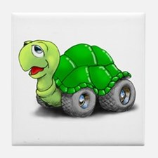 Speedy The Turtle Tile Coaster