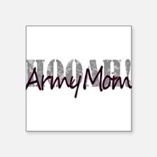 "Army Mom Square Sticker 3"" x 3"""