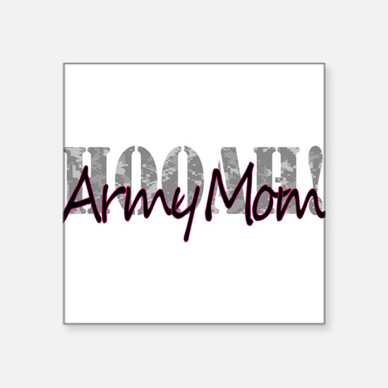 "Army Mom Square Sticker 3"" x 3"""