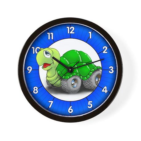 Speedy The Turtle Wall Clock