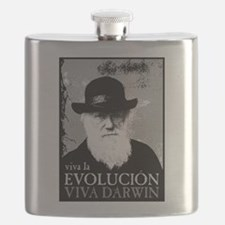 Viva Old Man Darwin.png Flask