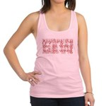 Murphy's Law.png Racerback Tank Top
