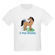 Cute horse lover boys T-Shirt