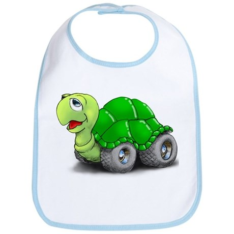 Speedy The Turtle Bib