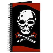 Maniacs' Almanac Jolly Roger Style Journal