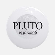 Goodbye Pluto Ornament (Round)