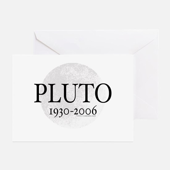 Goodbye Pluto Greeting Cards (Pk of 10)