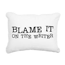 Blame it.png Rectangular Canvas Pillow