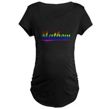 Mathew, Rainbow, T-Shirt