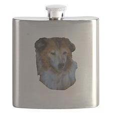 Guernsey Milk Cow Flask