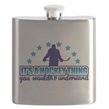 Its A Hockey Thing Flask