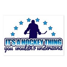 Its A Hockey Thing Postcards (Package of 8)