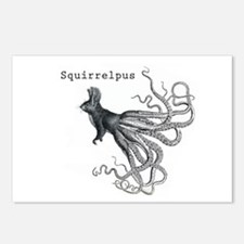 Squirrelpus Postcards (Package of 8)
