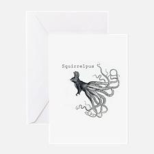 Squirrelpus Greeting Card