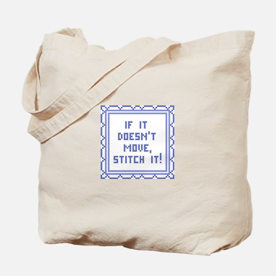 Stitch It! Tote Bag