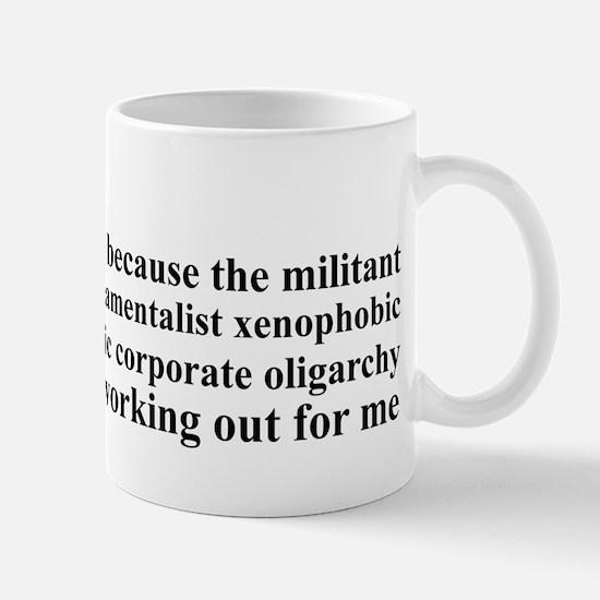 Why I'm Liberal Mug