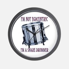 I'm Not Egocentric Wall Clock
