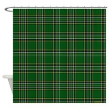 Irish National Tartan Shower Curtain