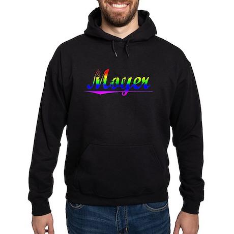 Moyer, Rainbow, Hoodie (dark)