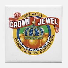 Crown Jewel Tile Coaster