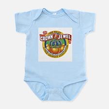 Crown Jewel Infant Creeper