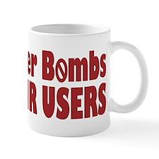 Ban Cluster Bombs Mug