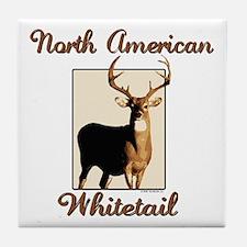 American Whitetail Tile Coaster