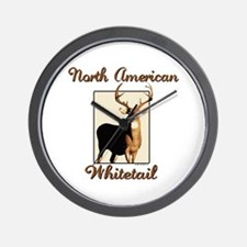 American Whitetail Wall Clock