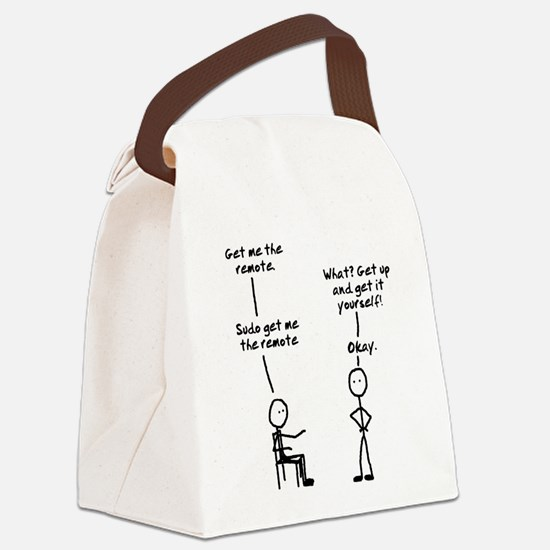 Sudo Canvas Lunch Bag