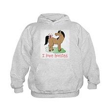 Cute horse lover girls Hoody