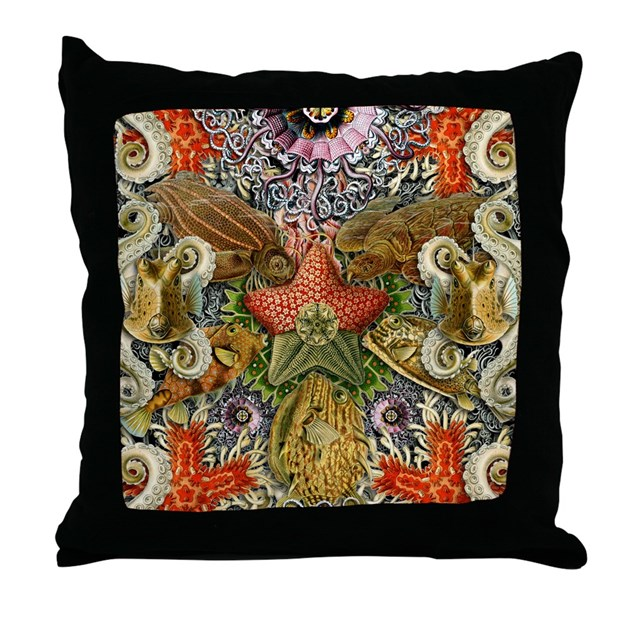 Forms of Nature 2 Throw Pillow by kennethrougeau