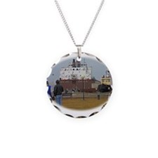 Mesabi Miner arriving Duluth Necklace