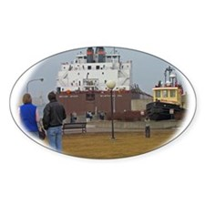 Mesabi Miner arriving Duluth Decal