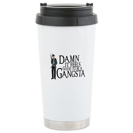Gangsta Man Stainless Steel Travel Mug