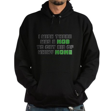 Minecraft Mod for Moms Hoodie (dark)