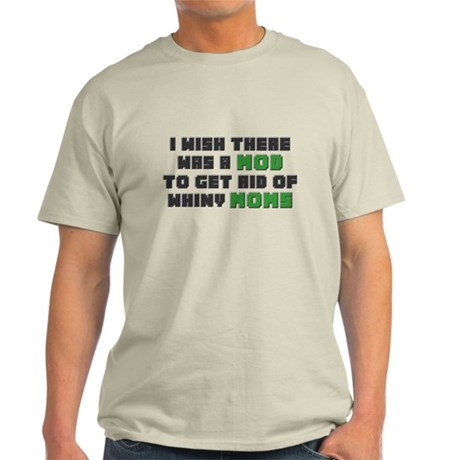 Minecraft Mod for Moms Light T-Shirt