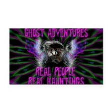 Ghost Adventures Rectangle Car Magnet