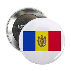 Moldova Moldovan Blank Flag Button