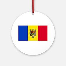 Moldova Moldovan Flag Christmas Ornament