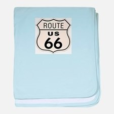 route66 baby blanket