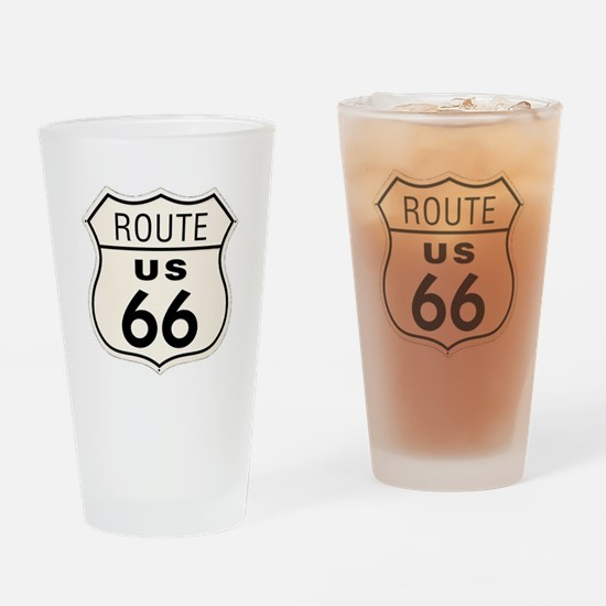 route66 Drinking Glass