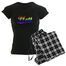 Plott, Rainbow, Pajamas