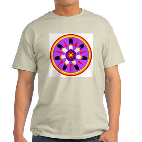 EAGLE FEATHER MEDALLION Light T-Shirt
